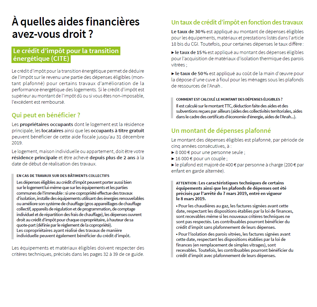 Les Aides Financières 3