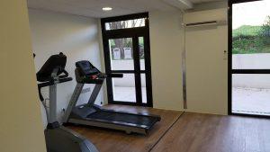 Dans la salle de fitness de l'Université de Perpignan 5